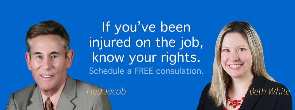 If you need workers' compensation advice call the law firm of Jacob and Chiarello